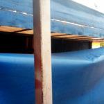 Ремонт пореза тента грузовика в Новосибирске