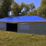 Изготовление шатра-палатки 15х9 м.