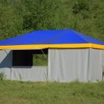 Изготовление шатра ПВХ