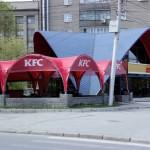 Тент-шатер для летнего кафе