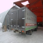 Ворота на грузовик Isuzu