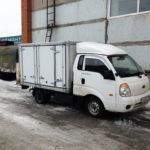 Боковые ворота на грузовик-хлебовозку Kia Bongo 3