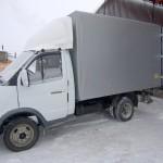 Тент и ворота на грузовик «Газель»