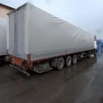 Изготовление тента для полуприцепа МАЗ в Новосибирске
