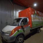 Брендирование автомобиля «Газель» из Томска