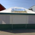 Изготовление торгово-выставочной палатки