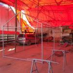 Каркас торговой палатки ПВХ 3х5х2,2 метра