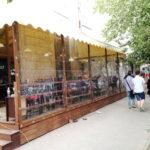 Мягкие окна для летнего кафе в Новосибирске